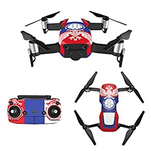 RCstyle 2018 FIFA World Cup Drone Decal Stickers Remote Controller 3M Skins Full Set for DJI Mavic Air (RU)