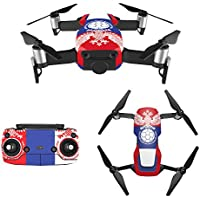 RDtech Mavic Air 2018 FIFA World Cup Decal Skin, Six Finalists Stikers for Mavic Air Includes Drone Skin, Controller Skin and Battery Button Skin(RUS)