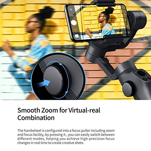 Capture 2 3-Axis Handheld Gimbal Stabilizer for Gopro 4 5 6 7 Action Camera iOS Andriod Smartphone