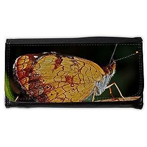 le portefeuille de grands luxe femmes avec beaucoup de compartiments // M00290238 Mariposa macro de insectos Naturaleza // Large Size Wallet