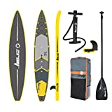 ZRAY R2 - Racing Inflatable Stand-Up Paddle Board 14' iSUP Package - Pump/Paddle/Fin/Backpack Included, 6x28x168-inches