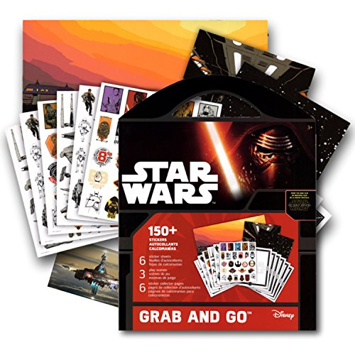[Star Wars Stickers Coloring Activity Book & Bonus Separately Licensed Fun Sticker ~ Kylo Ren, Rey, Captain Phasma, Stormtroopers, BB-8, and More! by Disney] (Stormtrooper Disney)