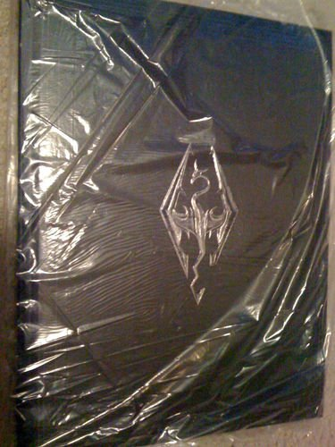The Elder Scrolls V Skyrim Art Book from collectors edition (Skyrim Collectors Book)