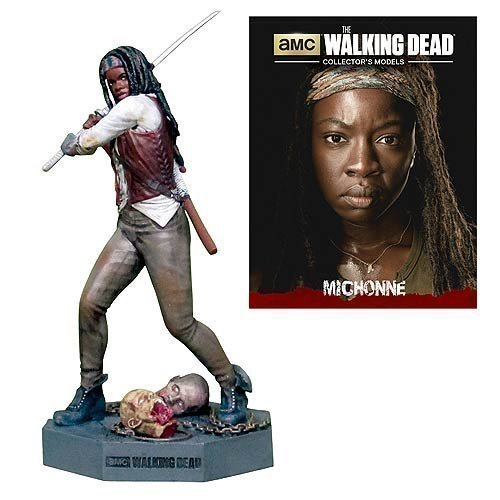 The Walking Dead Michonne Figure with Collector Magazine  3 by Walking Dead
