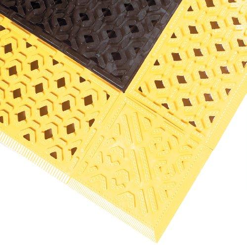 NoTrax PVC Vinyl 520 Cushion-Lok Anti-Fatigue Drainage Mat, for Wet
