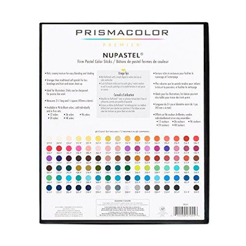 Prismacolor 27055 Premier NuPastel Firm Pastel Color Sticks, 96-Count by Prismacolor (Image #12)