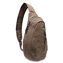 Weekend Shopper Shoulder Sling Bag Mini Backpack Cross Body Bag Crossbody Backpack Chest Bag for Men and Women fit iPad mini 7.9 Inch Tablet Bag