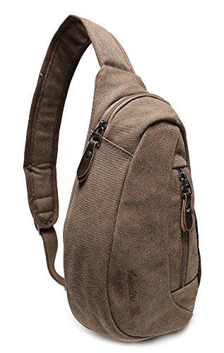 Weekend Shopper Shoulder Sling Bag Mini Backpack Cross Body Bag Crossbody Backpack Chest Bag for Men and Women fit iPad mini 7.9 Inch Tablet bag (Cross Body Shopper)