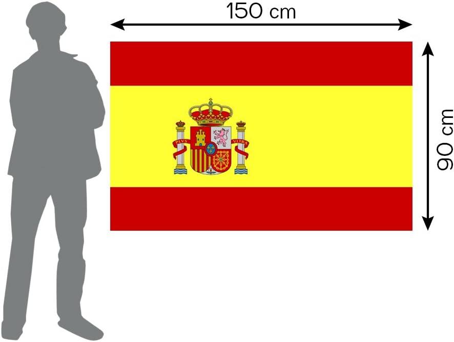 Loretta Bandera de España 90 x 150 cm. 2 Unidades - Bandera España ...