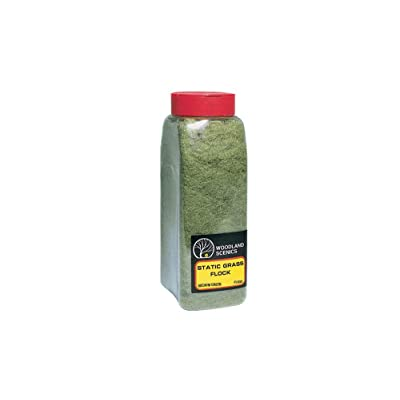 Static Grass Flock Shaker, Medium Green/57.7 in3: Toys & Games