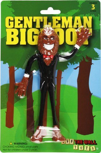 Gentleman Bigfoot (Bendable Action Figure) by Off the Wall Toys