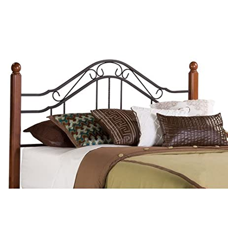 hillsdale furniture 1010hk madison headboard king textured black
