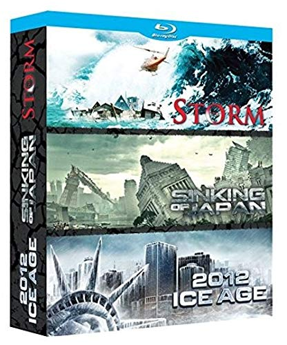 Coffret catastrophe : the storm / sinking of japan / 2012 ice age [Blu-ray]