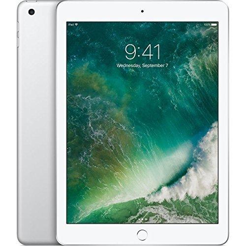 Apple iPad (5th Generation) WiFi , 128GB, Silver (2017 Model) ()