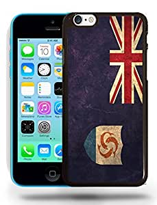Anguilla National Vintage Flag Phone Case Cover Designs for iPhone 5C