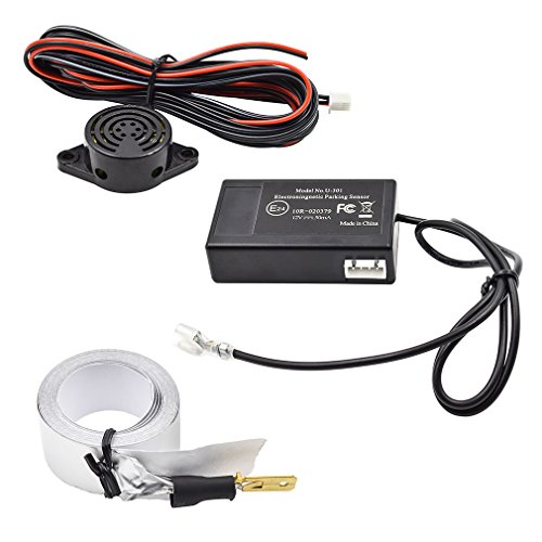 GERI Reverse Backup Radar Sensor System Reversing Kit Electromagnetic Car Parking (Car Sensor Ultrasonic)