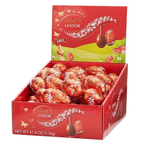 Lindor Milk Chocolate Eggs, 24 Count