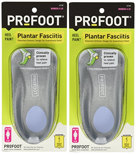 Profoot Plantar Fasciitis Orthotics Womens product image