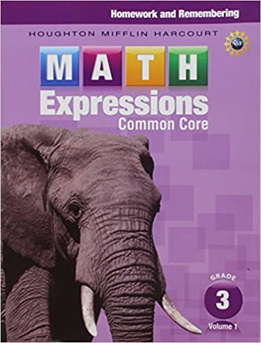Math expressions homework remembering volume 1 grade 3 houghton math expressions homework remembering volume 1 grade 3 1st edition fandeluxe Images