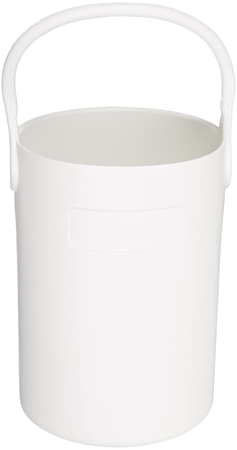 Eagle Thermoplastics B-101 Thermoplastic Safety Bottle Tote Carrier, White, 16' Height 16 Height