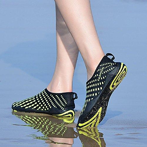 Water Les Sports Shoes Plage marine Bigu La Rapide Natation Plonge On Pour Sous Chaussures Yoga En Unisex Chaussettes Schage Peau Slip Pieds Nus Hommes 4SqFdw