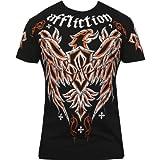 Affliction Georges St-Pierre UFC 137 Walkout Micro Signature Series T-Shirt - Black (Large)