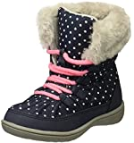 carter's Girls' Mika Cold Weather Snow Boot, Navy, 8 M US Toddler