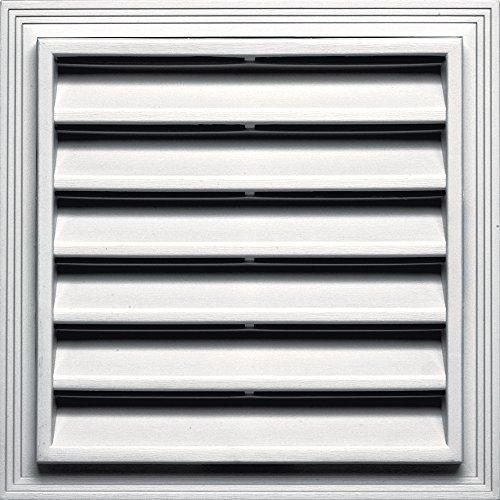- Builders Edge 120051212117 Vent, Bright White