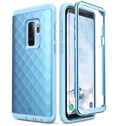 Clayco Samsung Galaxy S9+ Plus Case, [Hera Series] Full-Body Rugged Case Without Screen Protector for Samsung Galaxy S9+ Plus (2018 Release) (Blue)