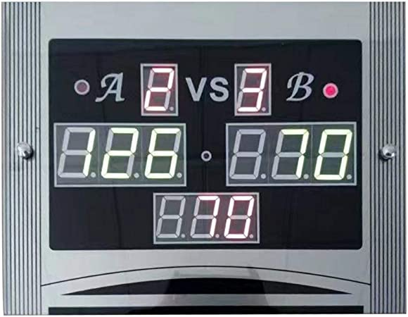 WE-WHLL Club Snooker Billar Pool Marcador Digital electrónico con Control Remoto: Amazon.es: Hogar