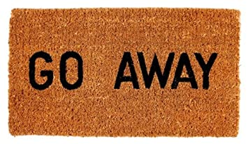 Kempf Go Away Doormat 16 by 27 by 1-Inch & Amazon.com : Kempf Go Away Doormat 16 by 27 by 1-Inch : Funny ... Pezcame.Com