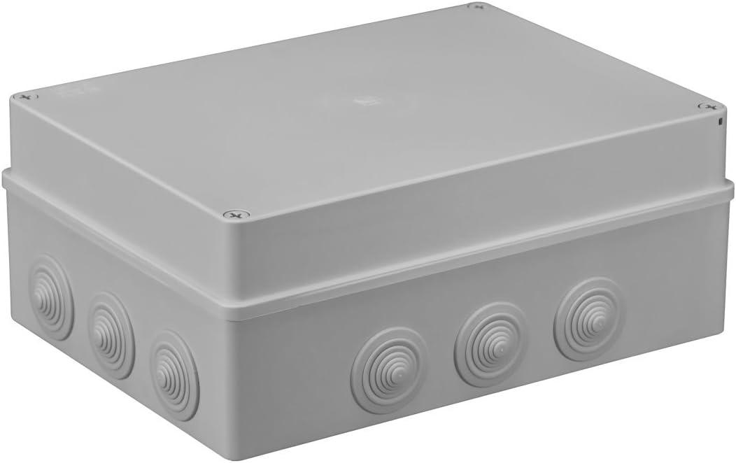 Bo/îte de distribution 1/x pi/èce humide dinstallation Bo/îtier 300/x 220/x 120/mm IP65