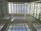Vintography 24 x 36 Photo Looking up at Sculpture Solar Spectrum at The Sam Gibbons U.S. Courthouse, Tampa, Florida a2876