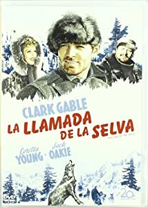 La Llamada De La Selva [DVD]: Amazon.es: Clark Gable
