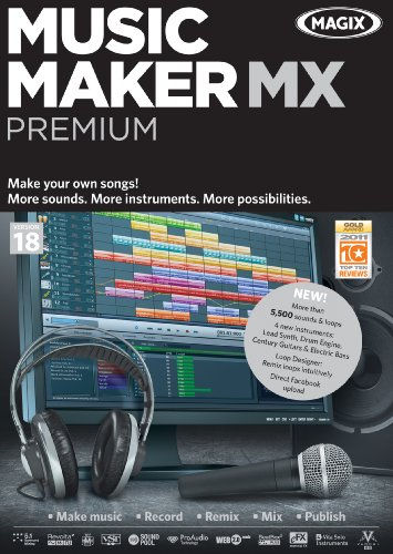 Music Maker MX Premium [Download] by MAGIX