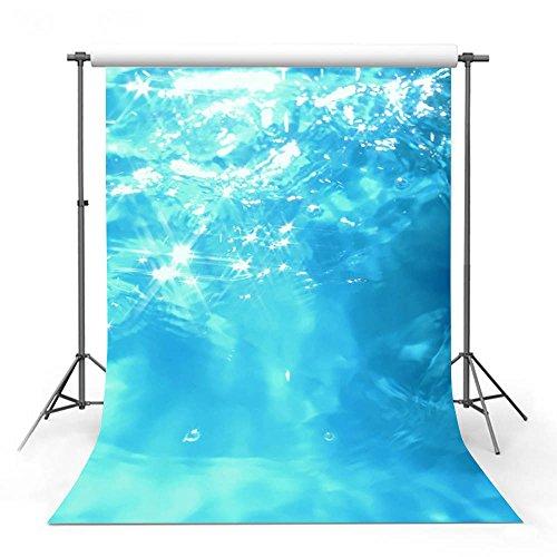 COMOPHOTO - Fondo de fotos para piscina de verano, fondo de fotografía para fiestas con fotografía impresa