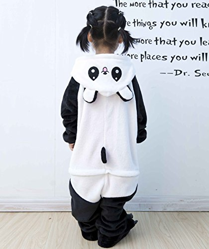 Kigurumi Kids Panda Tonwhar Cosplay Children' s Animal Onesie Halloween Costumes Cartoon paZRCnW