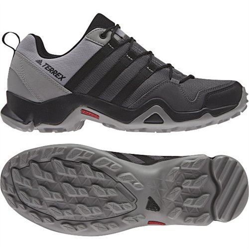 adidas outdoor Mens Terrex AX2R Shoe, Granite/Black/CH Solid Grey, 9 D(M) US