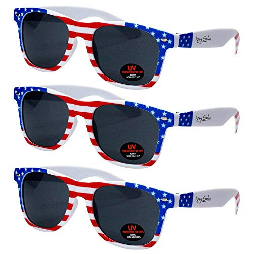 Sunglasses for Men, Women & Kids by Ray Solée- 3 Pack -
