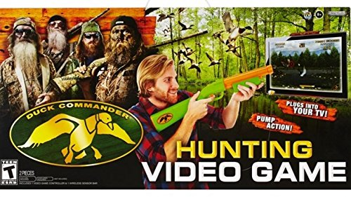Duck Dynasty Duck Commander Plug 'N' Play Hunting Video Game ()