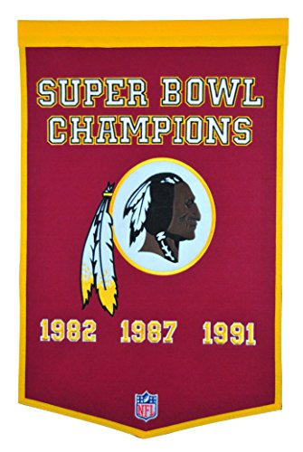 NFL Washington Redskins Dynasty Banner