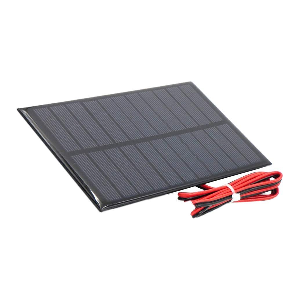 Sharplace Mini Panneau Solaire Chargeur De Batterie Puissance Panneau Solaire Cellule DIY Jouet - 5V 250mA