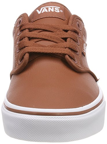 Tumble Marrón Sequoia White Classic Leather Atwood Zapatillas Synthetic para U0o Hombre Vans 8Yw7qaq