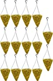 14'' Cone Sphagnum Moss Basket with Wire Hanger (14 Sets Pack)