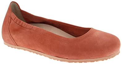 ad52e1a0ce8c Birkenstock Women s Celina Ii Ballet Flat Coral Size 36 ...