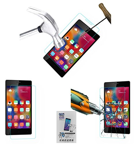 Acm Tempered Glass Screenguard Compatible with Gionee Elife S7 Mobile Screen Guard Scratch Protector