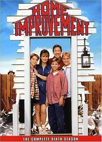 Amazon Com Home Improvement Season 6 Tim Allen Patricia Richardson Jonathan Taylor Thomas Richard Karn Paul Parducci Movies Tv