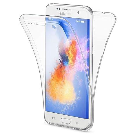 NALIA Coque Protection pour Samsung Galaxy S7 Edge Tout Round 360 Degrés,  Housse Silicone Portable 935a12555224