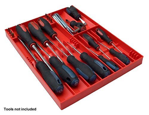 Tool Sorter Screwdriver Organizer Red product image