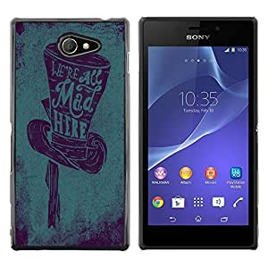 Dragon Case - FOR Sony Xperia M2 - ?standing in front of mood - Caja protectora de pl??stico duro de la cubierta Dise?¡Ào Slim Fit